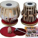 TABLA SET/MAHARAJA™/EXTRA HEAVY COPPER BAYAN 5½KG/ALL ACCES/SHEESHAM DAYAN/AAD-1