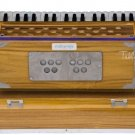 HARMONIUM No. 6001n/MAHARAJA/KAIL WOOD/FOLDING/2 REED/COUPLER/2.75 OCTAVE/EJH