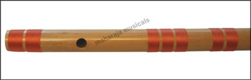 FLUTE MAHARAJA CONCERT SCALE F NATURAL BASS 28.5 IN. FINEST BAMBOO BANSURI/CFI-1