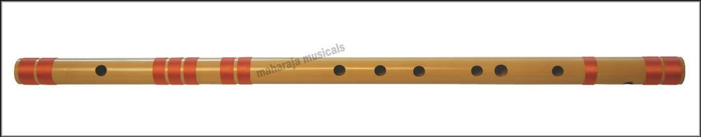 FLUTE MAHARAJA CONCERT SCALE F SHARP BASS 26.5 INC BEST BAMBOO BANSURI/CGA-2