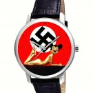 NAZI GERMANY CONTEMPORARY MICKEY MOUSE ART COLLECTIBLE WRIST WATCH