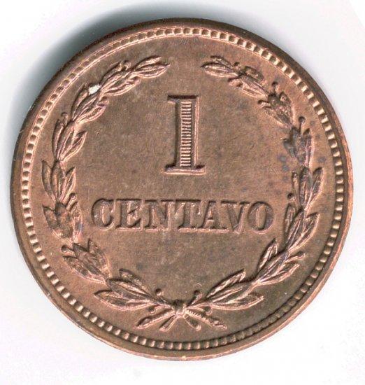 EL Salvador 1956 1 Cent BUNC