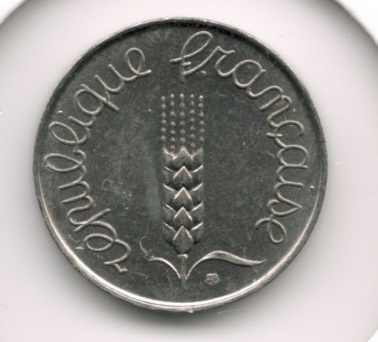 1968 5 centimes AUNC