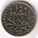 2000 50 cents XF/AU