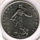 1991 1 Franc XF/AU