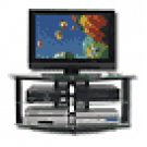 "Studio RTA - Fierro TV Stand for Tube TVs Up to 32"" and DLP TVs Up to 50"" - Black"