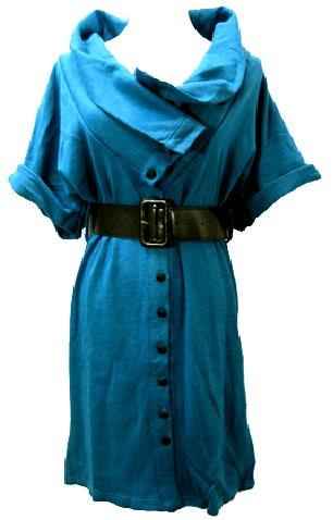 BLUE SAGIRA DRESS