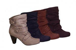 Suede Short Boots