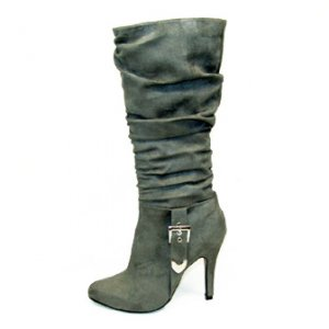 Suede Pu Boots