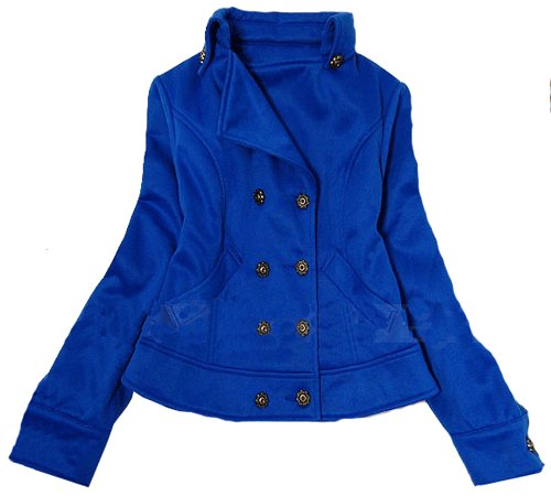 BLUE CECILIA COAT