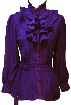 PURPLE XIOMARA TOP