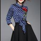 vestidos/runway dress/women summer dress/embroidered dress/Black dress/floral dress