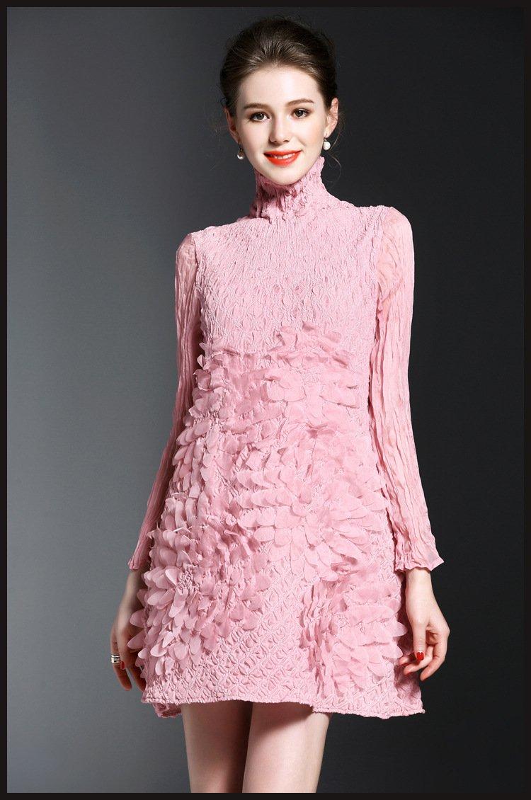 pink dress/women dress/summer dress/floral dress/office dress/party dresses/womens clothing