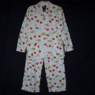 Nick & Nora Cherry Cherries & Blue Birds Pajama Set