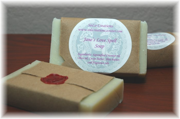 Jane's Love Spell Soap