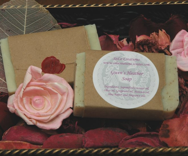 Gwen's Heather with Oatmeal Soap