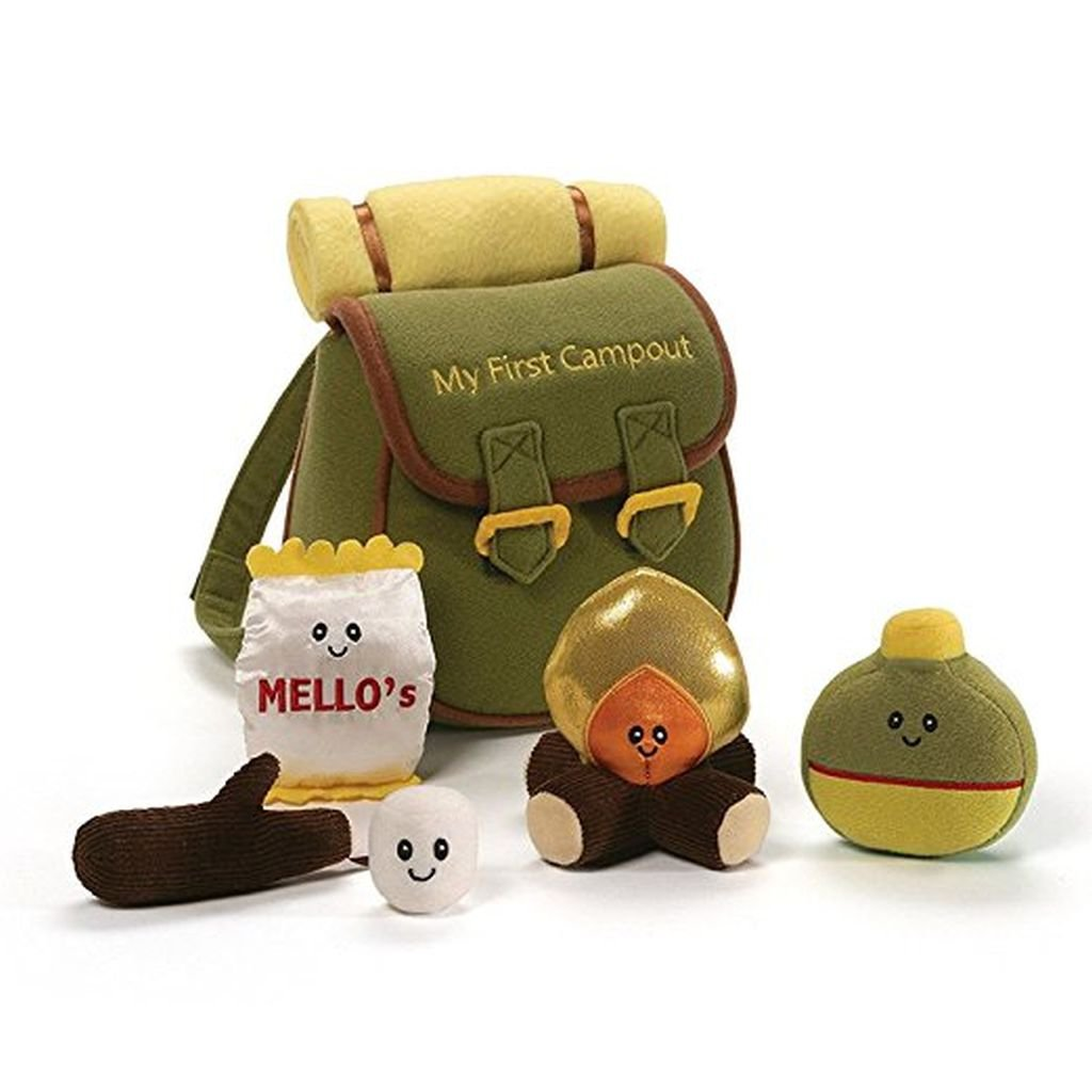 Gund Baby My First Campout Playset