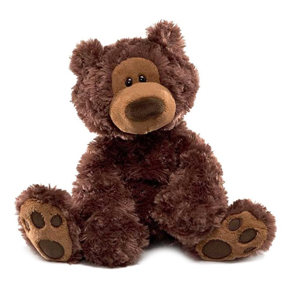 GUND Philbin Chocolate Teddy Bear Stuffed Animal, 12 inches