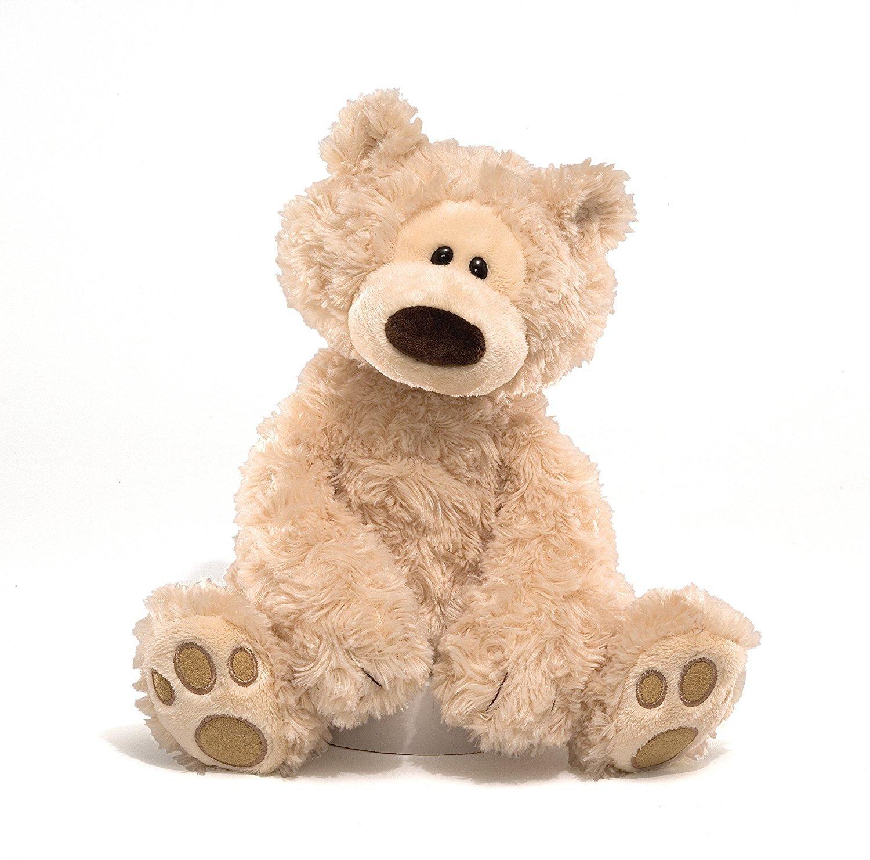GUND Philbin Beige Teddy Bear Stuffed Animal, 12 inches