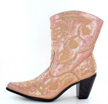 Helen's Heart Gold studded Ankle Boots or Tall any occasion! SIZE 6-11  6 colors