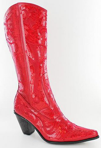 Helen Heart  RED studded  Tall or Ankle Boots any occasion! SIZE 6-11  6 colors