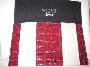 Miche JESSICA  Red and  Cream Classic Shell (THIS IS A RETIRED SHELL CAN'T BUY)