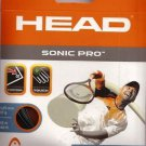 Head Sonic Pro 17g, Black, 5 Packages of String, NWT