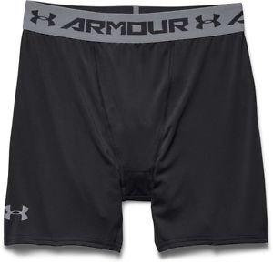 Under Armour Men's HeatGear Armour Compression Shorts,1257470, Black, NWT