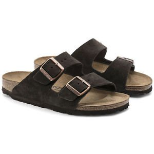 Birkenstock Arizona Sandal, Mocha, Regular Fit, Size 36, NWT