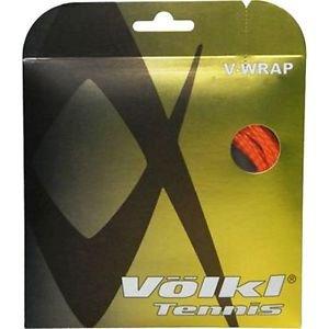 Volkl V-Wrap 16g, Orange, 5 Packages of Tennis String, NWT