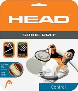 Head Sonic Pro 17g, White, 4 Packages of String, NWT