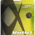 Volkl V-Wrap 17g, Natural/Black Spiral, 5 Packages of Tennis String, NWT