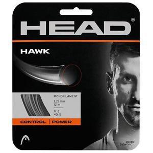 Head Hawk 17, Silver/Grey, 2 Packages of String, NWT