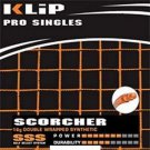 Klip Scorcher 16g, Black. 4 Package of Tennis String, NWT