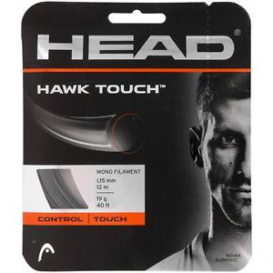 Head Hawk Touch 19, Anthracite, 4 Packages of string, NWT