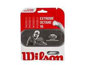 Wilson Extreme Octane 16 String, White, 6 Packages of string, NWT