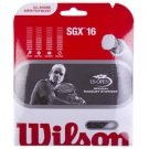 Wilson SGX 16 Tennis String, Black,6 Packages of String, NWT