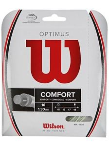 Wilson Optimus 16 String, White, 2 Packages of String, NWT