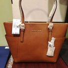 Michael Kors Jet Set EW Top-Zip Tote, Luggage, NWT
