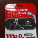 Wilson Extreme Octane 17 String, White, 3 Packages of string, NWT