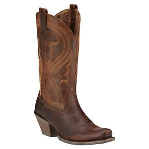 Ariat Women's Lively Boot, Sassy Brown, Size 9, NWT