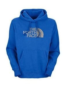 The North Face Mens Half Dome Hoodie, Nautical Blue/Metallic Silver, Large, NWT