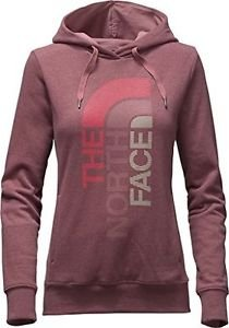 The North Face Women's TriVert Logo Hoody, Renaissance Rose/Grey, XS,  NWT