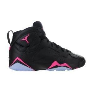 Jordan 7 Retro GG, Black/Hyper Pink-Hyper Pink, 442960 018, Size 6Y, NWT
