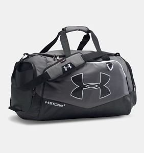 Under Armour Storm Undeniable MD Duffle Bag, Graphite/Black, NWT