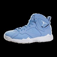 Air Jordan 7 Retro Shoe, Carolina Blue, 304775 400, Size 7.5, NWT