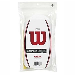 Wilson Pro Overgrip, 30 Pack, White