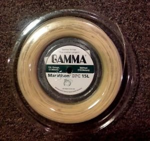 Gamma Marathon DPC 15L, Tennis String Reel, Natural