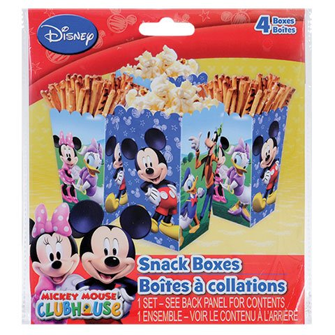 Disney Mickey Mouse Clubhouse Snack Boxes, 4-ct. Packs