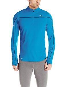 Saucony Men's Transition Sportop 1/4 Zip Long Sleeve Shirt - SA81073
